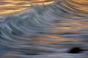 Waves in the Sea of Cortez Near La Paz by Michael Melford