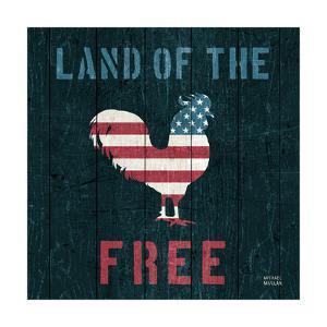 American Farm Rooster by Michael Mullan