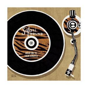 Analog Jungle Record Player by Michael Mullan