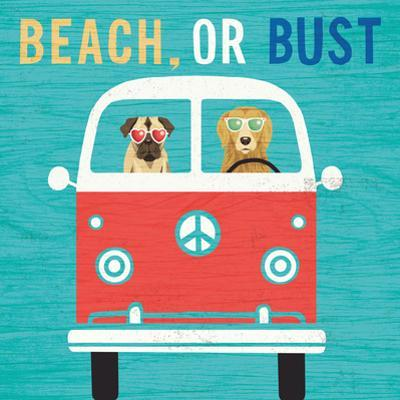 Beach Bums Bus by Michael Mullan