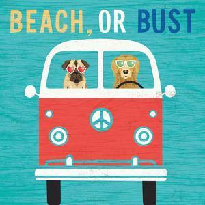 Beach Bums Bus by Michael Mullan