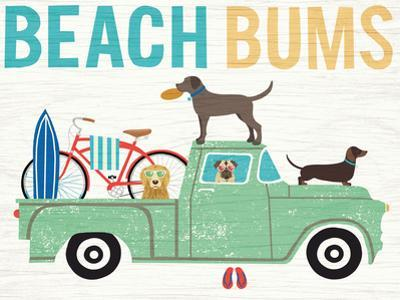 Beach Bums Truck I by Michael Mullan