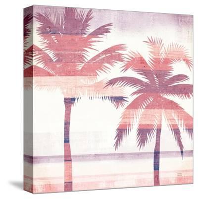 Beachscape Palms III Pink Purple