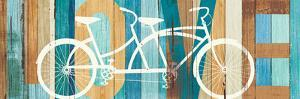 Beachscape Tandem Bicycle Love by Michael Mullan