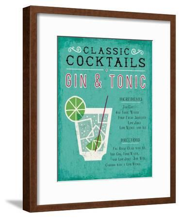 Classic Cocktail Gin and Tonic