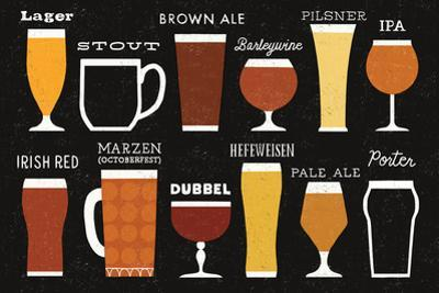 Craft Beer List by Michael Mullan