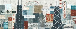 Hey Chicago Crop by Michael Mullan