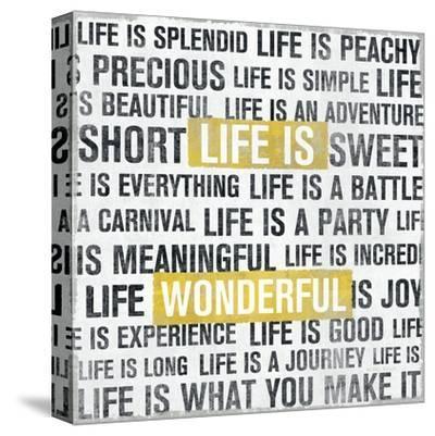 Life Is Yellow