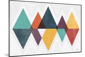 Mod Triangles II Retro by Michael Mullan