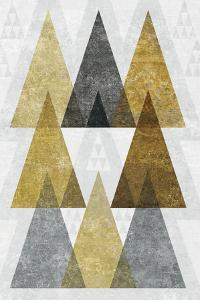 Mod Triangles IV Gold by Michael Mullan