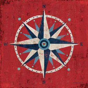 Nautical Love Compass by Michael Mullan