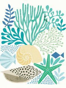 Under Sea Treasures V Sea Glass by Michael Mullan