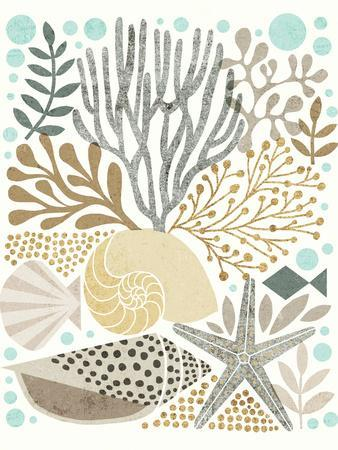 Under Sea Treasures VI Gold Neutral