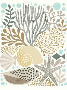 Under Sea Treasures VI Gold Neutral by Michael Mullan