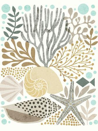 Under Sea Treasures VI Gold Neutral by Michael Mullan