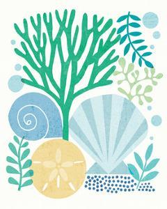 Under Sea Treasures VI Sea Glass by Michael Mullan