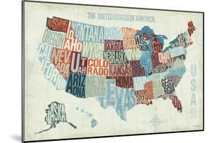 USA Modern Blue by Michael Mullan