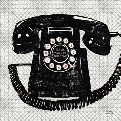 Vintage Analog Phone by Michael Mullan