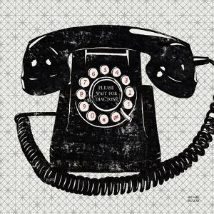 Vintage Analog Phone by Michael Mullan