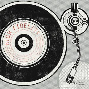 Vintage Analog Record Player by Michael Mullan