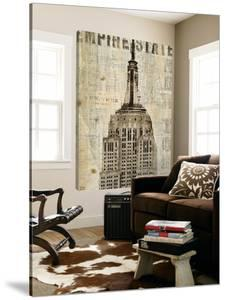 Vintage NY Empire State Building by Michael Mullan