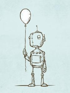 Robot Balloon by Michael Murdock