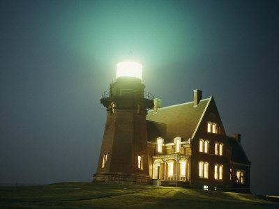 Lighthouse on Block Island