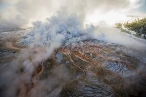 More Than a Third of Yellowstone Sits Within the Caldera of an Active Volcano by Michael Nichols