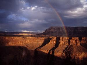 Rainbow Arches over the Grand Canyon by Michael Nichols