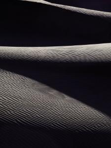 Sand Dunes in Death Valley by Michael Nichols