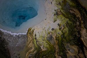 Silex Spring in Yellowstone National Park's Lower Geyser Basin by Michael Nichols