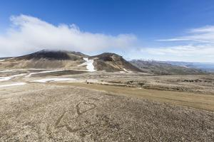 A View Inside the Stratovolcano Crater Snaefellsjokull, Snaefellsnes National Park by Michael Nolan