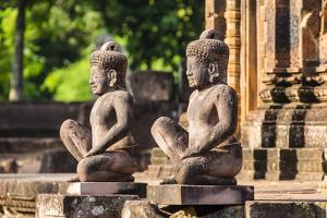 Banteay Srei Temple in Angkor by Michael Nolan