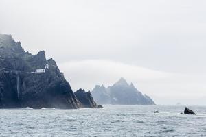 Fog Shrouds the Skellig Islands by Michael Nolan