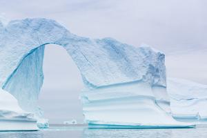 Grounded Icebergs, Sydkap, Scoresbysund, Northeast Greenland, Polar Regions by Michael Nolan