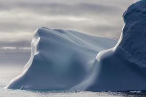 Huge Iceberg in Baffin Bay, Nunavut, Canada, North America by Michael Nolan