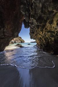 Sea Cave at Bigge Island, Kimberley, Western Australia, Australia, Pacific by Michael Nolan