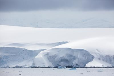Snow Covered Mountains and Glaciers in Dallmann Bay, Antarctica, Polar Regions by Michael Nolan