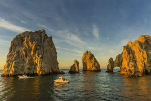 Sunrise with Fishing Boats at Land's End, Cabo San Lucas, Baja California Sur by Michael Nolan