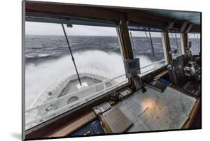 The Lindblad Expeditions Ship National Geographic Explorer in English Strait by Michael Nolan