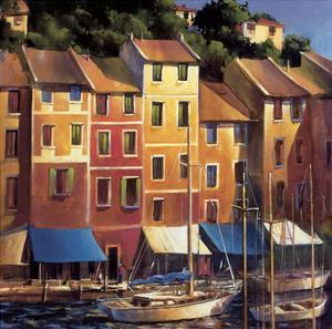 Portofino Waterfront by Michael O'Toole