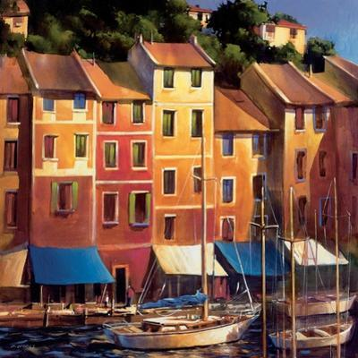 Portofino Waterfront by Michael O'Toole