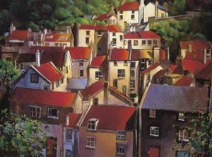 Rooftops II by Michael O'Toole