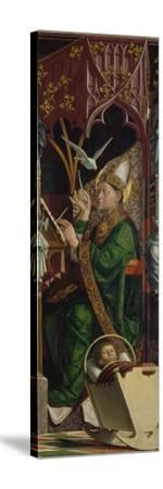 Altarpiece of the Four Latin Doctors, about 1480. Right Panel, Inner Part, St. Ambrose