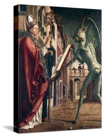 St Wolfgang and the Devil, Life of St Wolfgang, 1471-1475