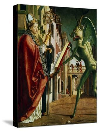 The Devil Presenting St Augustin with the Book of Vices, C1455-1498