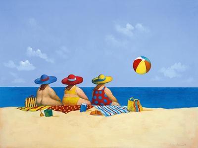 Three Ladies Sunning