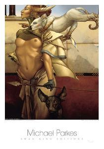 Stalking by Michael Parkes