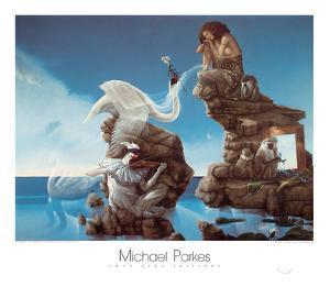 Swan Lake by Michael Parkes