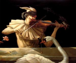 Water Music by Michael Parkes